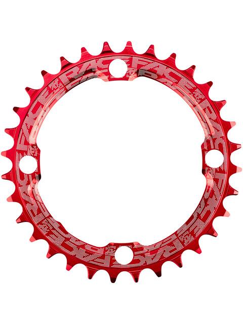 Race Face Narrow Wide - Plateau - 4 boulons 10/11/12 vitesses rouge